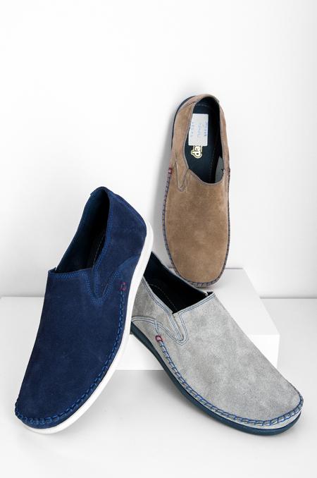 Καστόρ (Μπλέ, Γκρί, Πουρό) καθημερινό παπούτσι