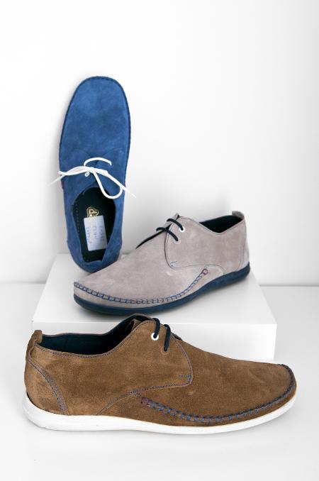 Καστόρ τζην, μπεζ, καφέ καθημερινό παπούτσι